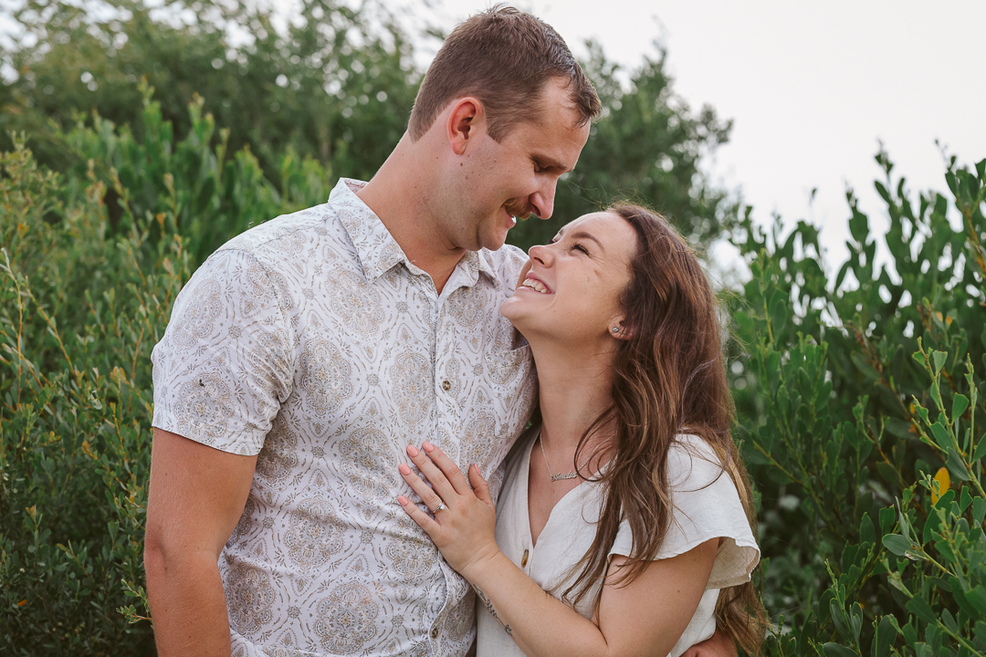 Ameila-and-James-Engagement-Session-Redhead-Beach-103