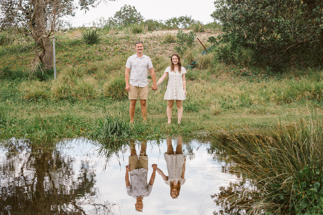 Ameila-and-James-Engagement-Session-Redhead-Beach-109