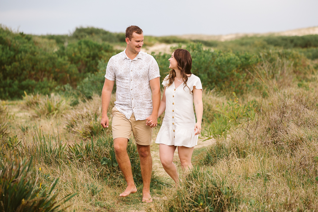 Ameila-and-James-Engagement-Session-Redhead-Beach-13