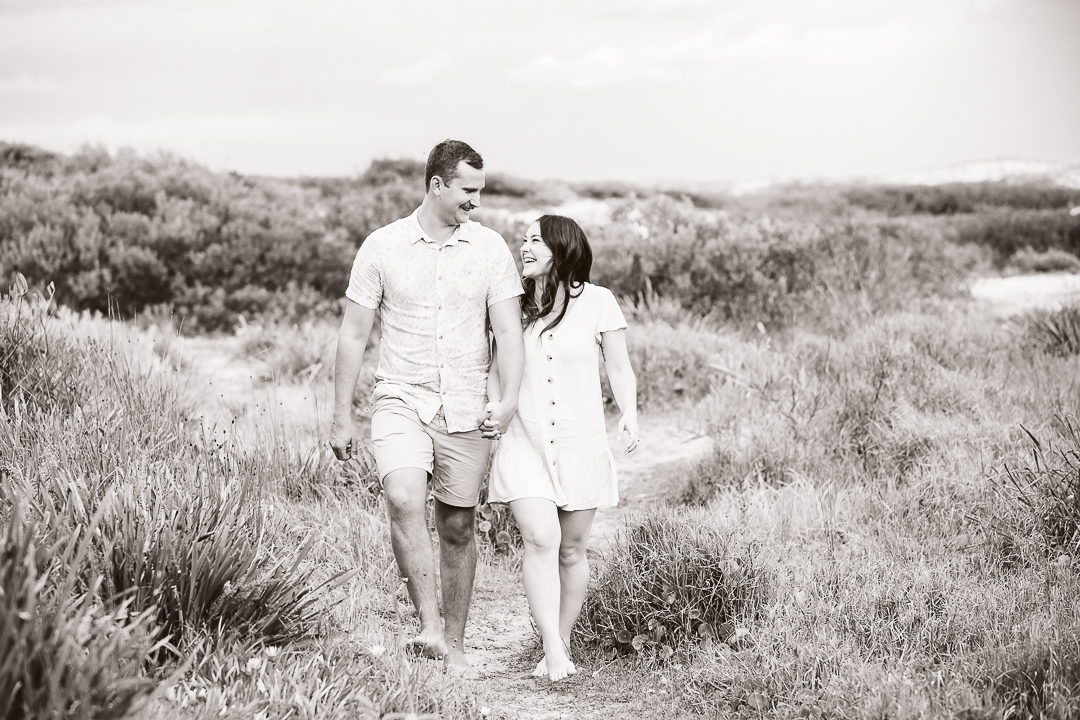 Ameila-and-James-Engagement-Session-Redhead-Beach-15