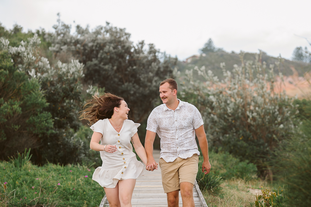 Ameila-and-James-Engagement-Session-Redhead-Beach-39