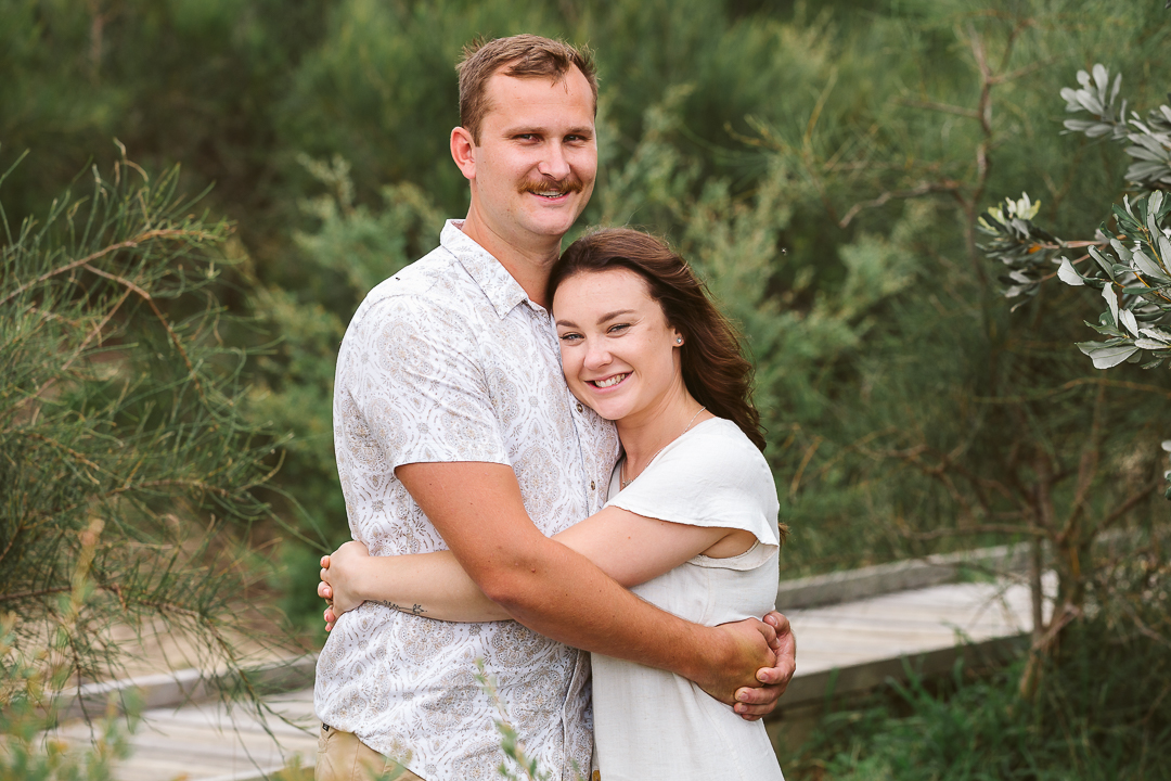Ameila-and-James-Engagement-Session-Redhead-Beach-61