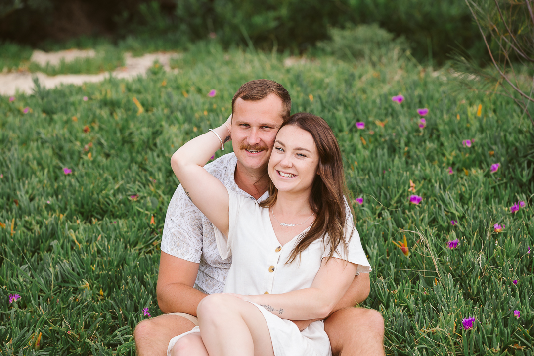 Ameila-and-James-Engagement-Session-Redhead-Beach-80