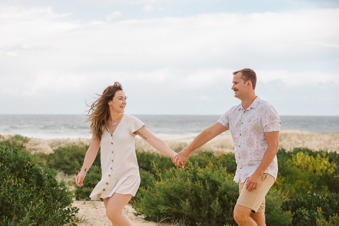 Ameila-and-James-Engagement-Session-Redhead-Beach-92