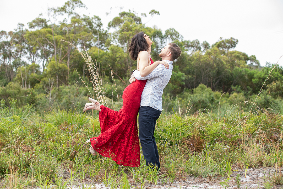 Dakota-and-Leo-Engagement-Session-Redhead-Beach-30
