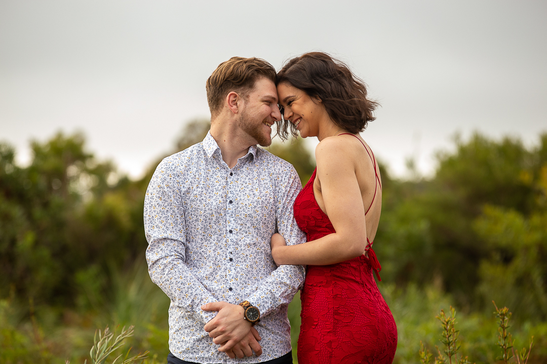 Dakota-and-Leo-Engagement-Session-Redhead-Beach-58