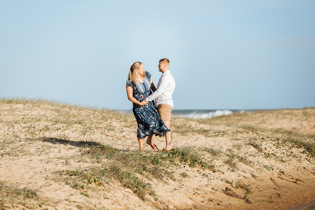 Madi-and-Conner-Engagement-Photos-Redhead-Beach-68