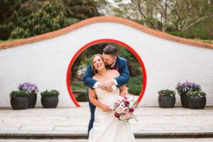 Ali and Brent Hunter Valley Gardens Wedding-320